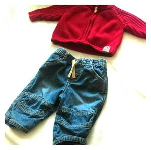 Cherokee boy outfit 6 months